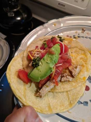 Beau's Crock-Pot Pork Tacos