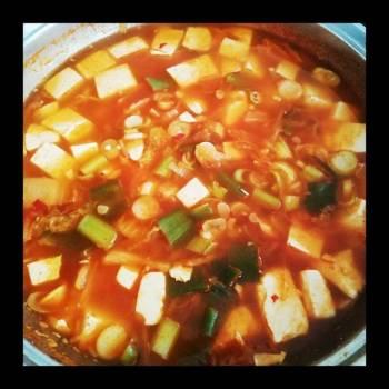 Seafood Kimchi Soup