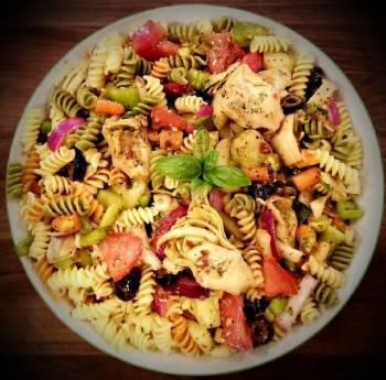 Mike's Chilled Artichoke Pasta Salad