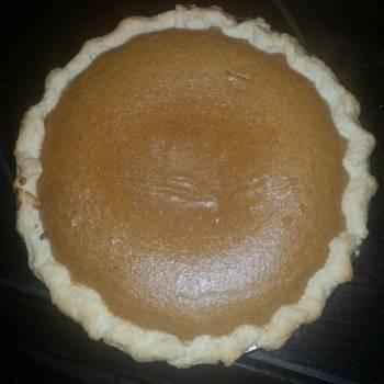 Edwards Family Pumpkin Pie!