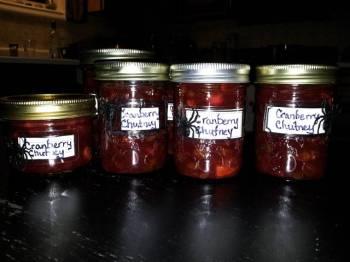 Evil Cranberry Chutney