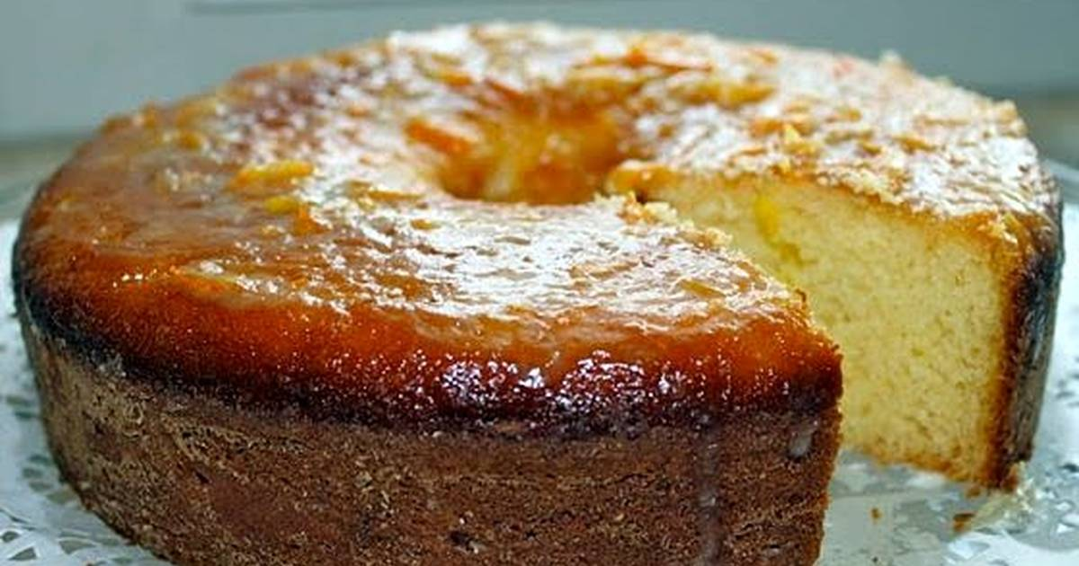 Baking Butter Cake Recipe