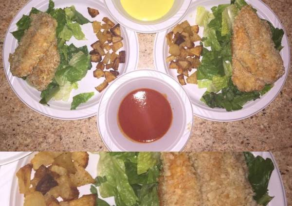 Baked Buffalo Style Chicken Tenders Recipe by Chany