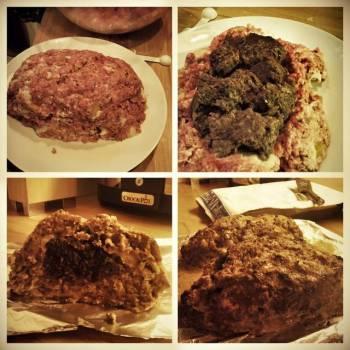 Robin's Haggis Stuffed Meatloaf