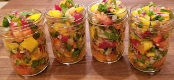 Mike's Tropical Spicy Salsa