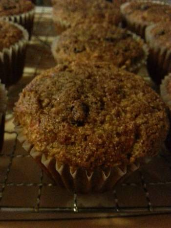 Diabetic Carrot Muffins