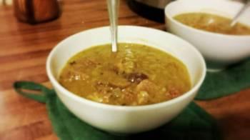 Possession-free Slow-cooker Split Pea Soup