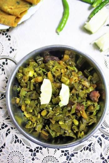 Potato Flat Beans Stir Fry