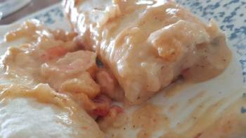 Cajun Shrimp Enchiladas