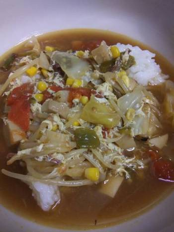 More Cabbage Soup..