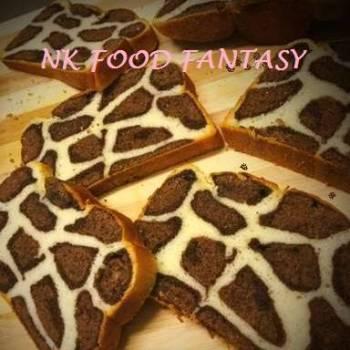 Honey Oats Leopard Bread