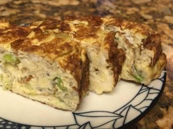 Tamagoyaki - young sardine omelet