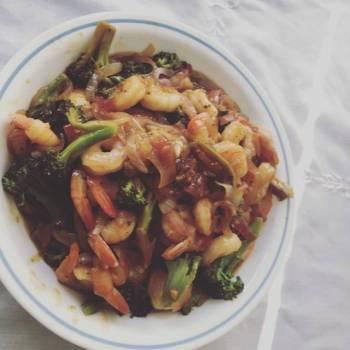 Shrimps w Broccoli