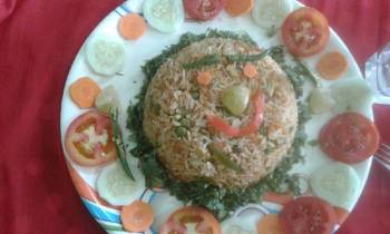 Leftover South Style Veg Fried Rice