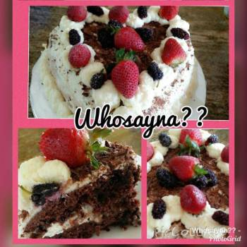 Whosayna's Black Forest Cake