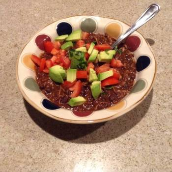 Black Bean Chili/Soup (Vegetarian or Not)