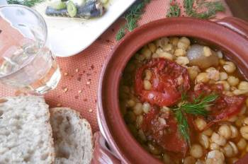 Baked Chickpea Stew (Revithada)