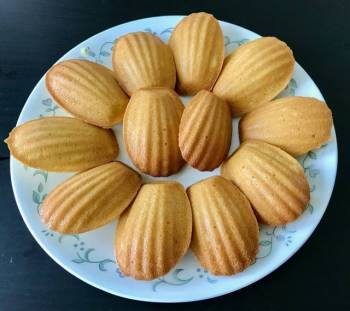 French Butter Cake (Madeleine)