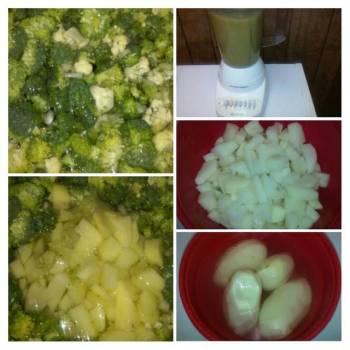 Creamy Broccoli& Veggie Soup