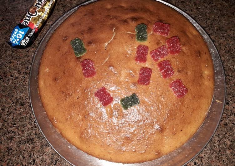 Homemade Eggless Cake Recipe By Rashika Arora Cookpad India