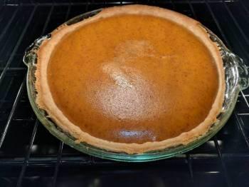 Grandma Betty's Pumpkin Pie