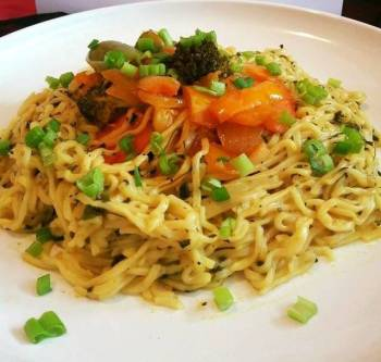 Mexican stir fry with Noodles