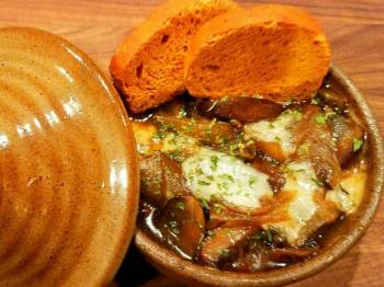 Mike's French Onion & Mushroom Soup