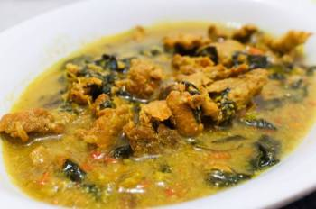 Lemongrass Basil Pork Stew