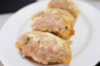 Pork Shrimp Stuffed Tofu