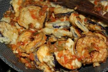 Eggplants Stir-Fry