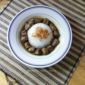 Beef Black Soup (Rawon)