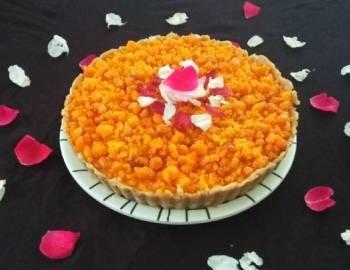 Motichur Ladoo Pie