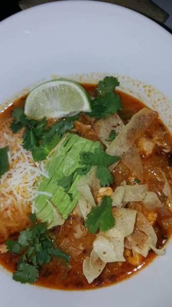 Chicken Tortilla Soup - IT'S THE ABSOLUTE BEST!!!