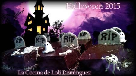 Receta de tumbas de halloween