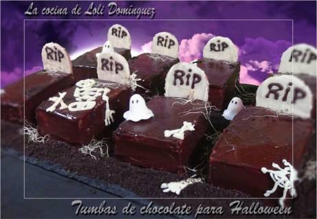 Receta bizcochos de chocolate de Halloween