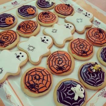 Galletas de halloween decoradas