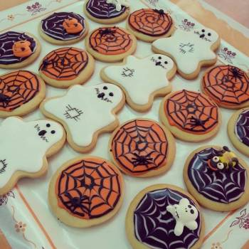 Galletas de halloween decoradas
