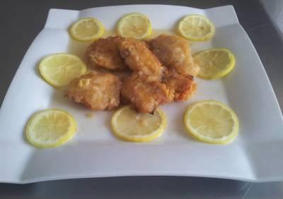 Pollo chino al limón
