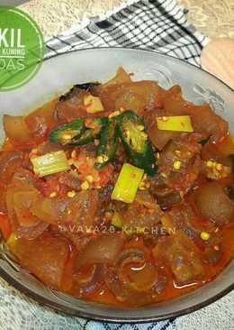 Bumbu Kikil Sapi : bumbu, kikil, Resep, Kikil, Bumbu, Kuning, Sederhana, Cookpad