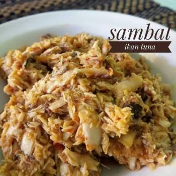 Sambal ikan tuna #rabubaru