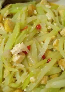 Resep Sayur Labu Siam Tanpa Santan : resep, sayur, tanpa, santan, Resep, Masakan