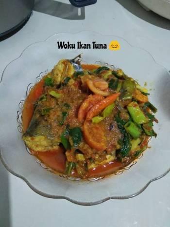 Woku Ikan Tuna