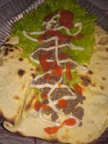 Kebab daging sapi homemade
