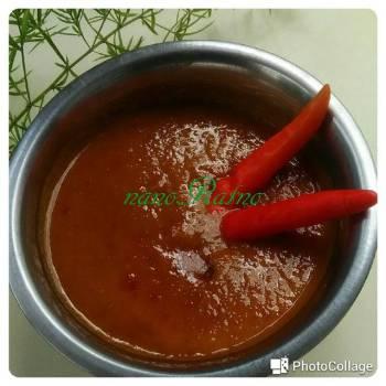Sambal kacang batagor/siomay#praktis