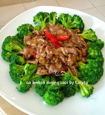 Ca brokoli daging sapi