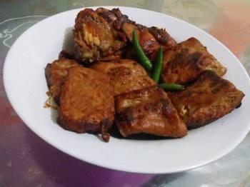 Tahu-Tempe-Ayam Bacem