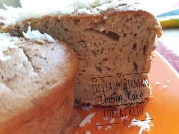Chiffon Cake Coklat Keju*PR_AnekaChiffon*