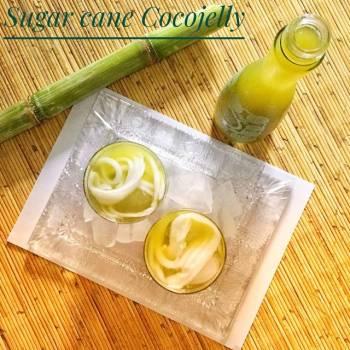 Sugar cane Cocojelly