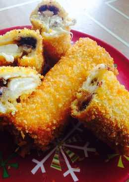 Roti Tawar Isi : tawar, Membuat, Tawar, Coklat