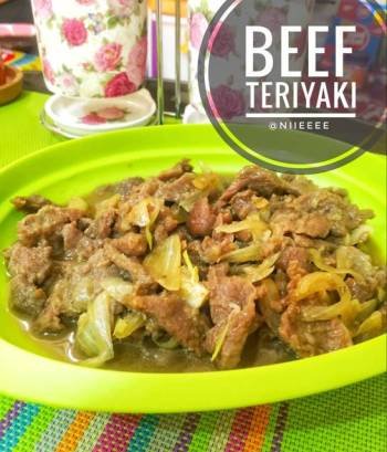 Beef Teriyaki 🍖